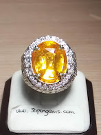 6,2ct NATURAL YELLOW SAPPHIRE. TOP TABLE LUSTER !
