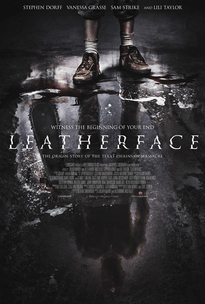new leatherface poster