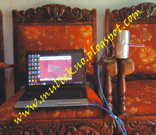Tutorial Membuat Antena Kaleng Modem USB