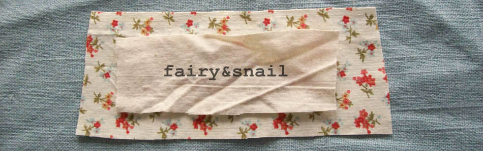 fairy & snail