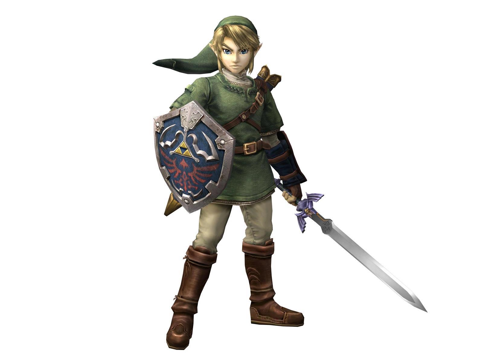 Legend of Zelda Twilight Princess Link