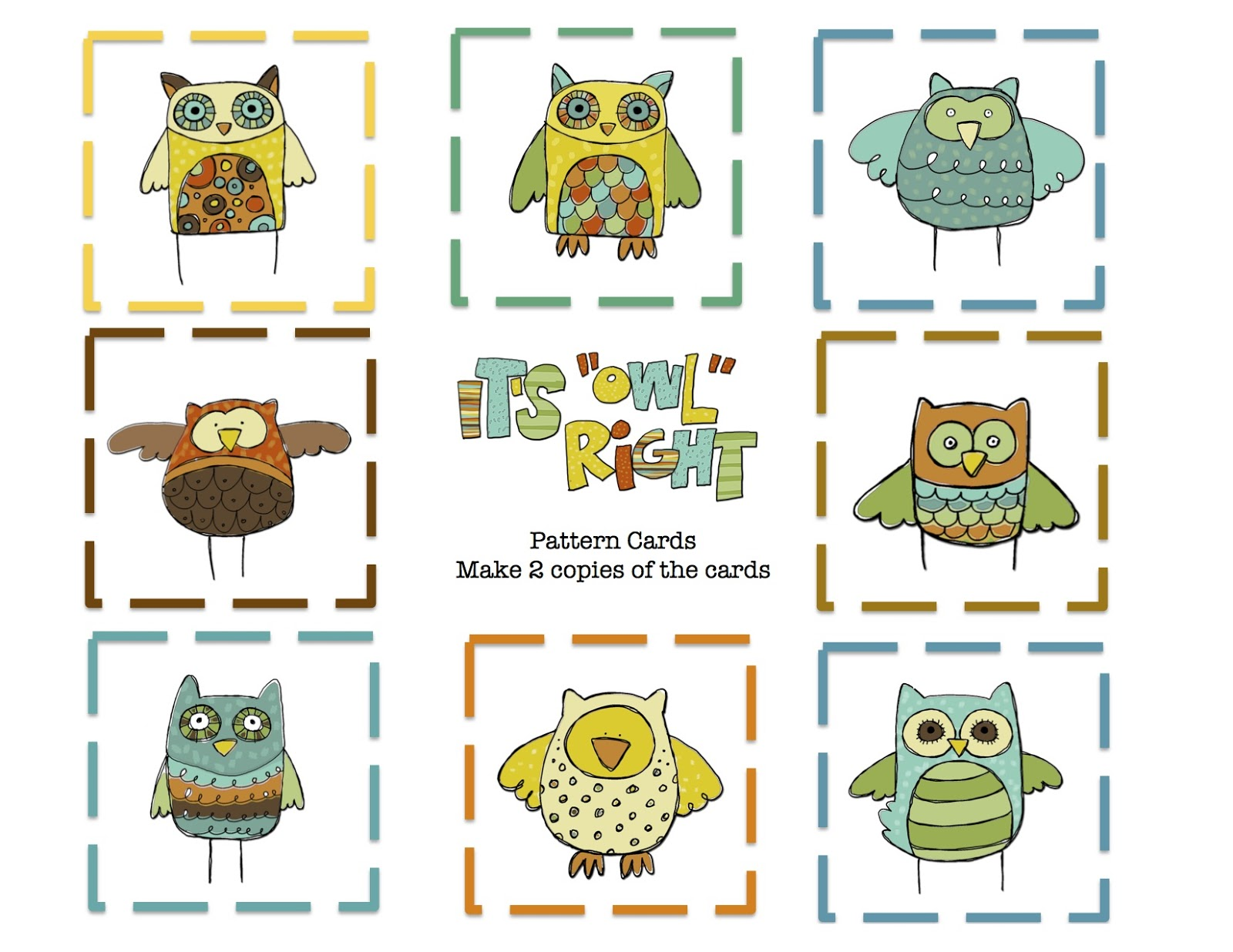 Displaying 19> Images For - Owl Pattern Printables...