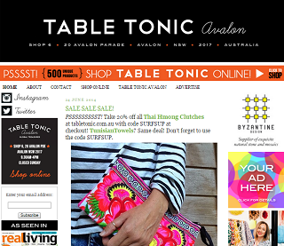 Table Tonic