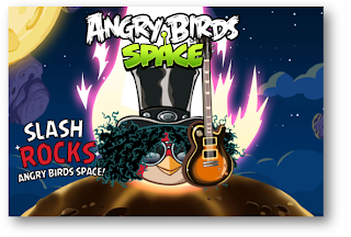 Angry Birds Space meluncurkan BlackBerry 10