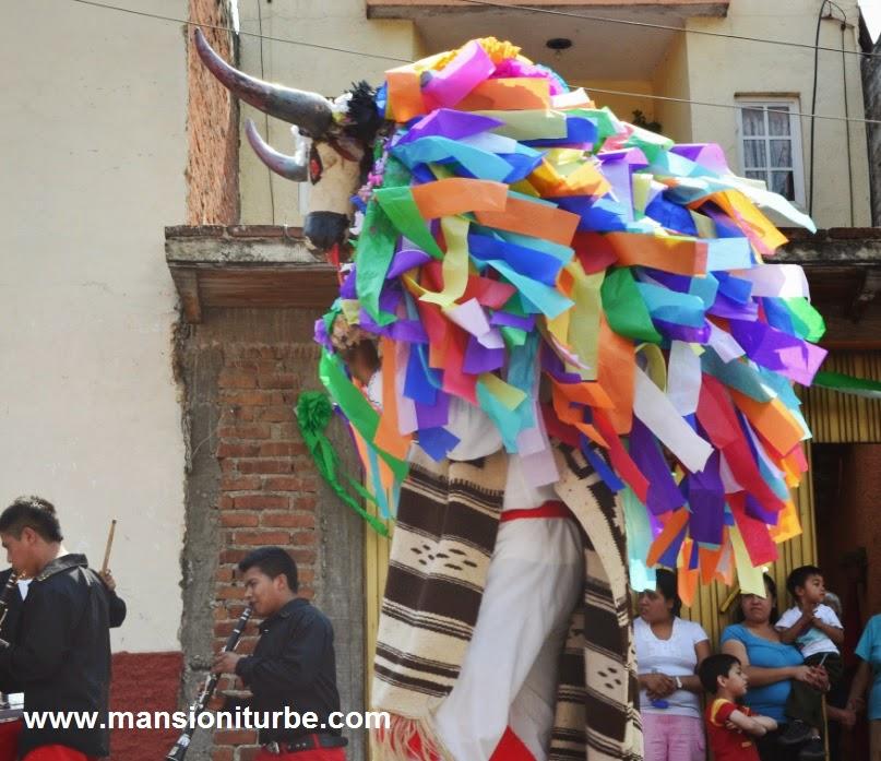 Paper Mache Bulls in Pátzcuaro, Michoacán