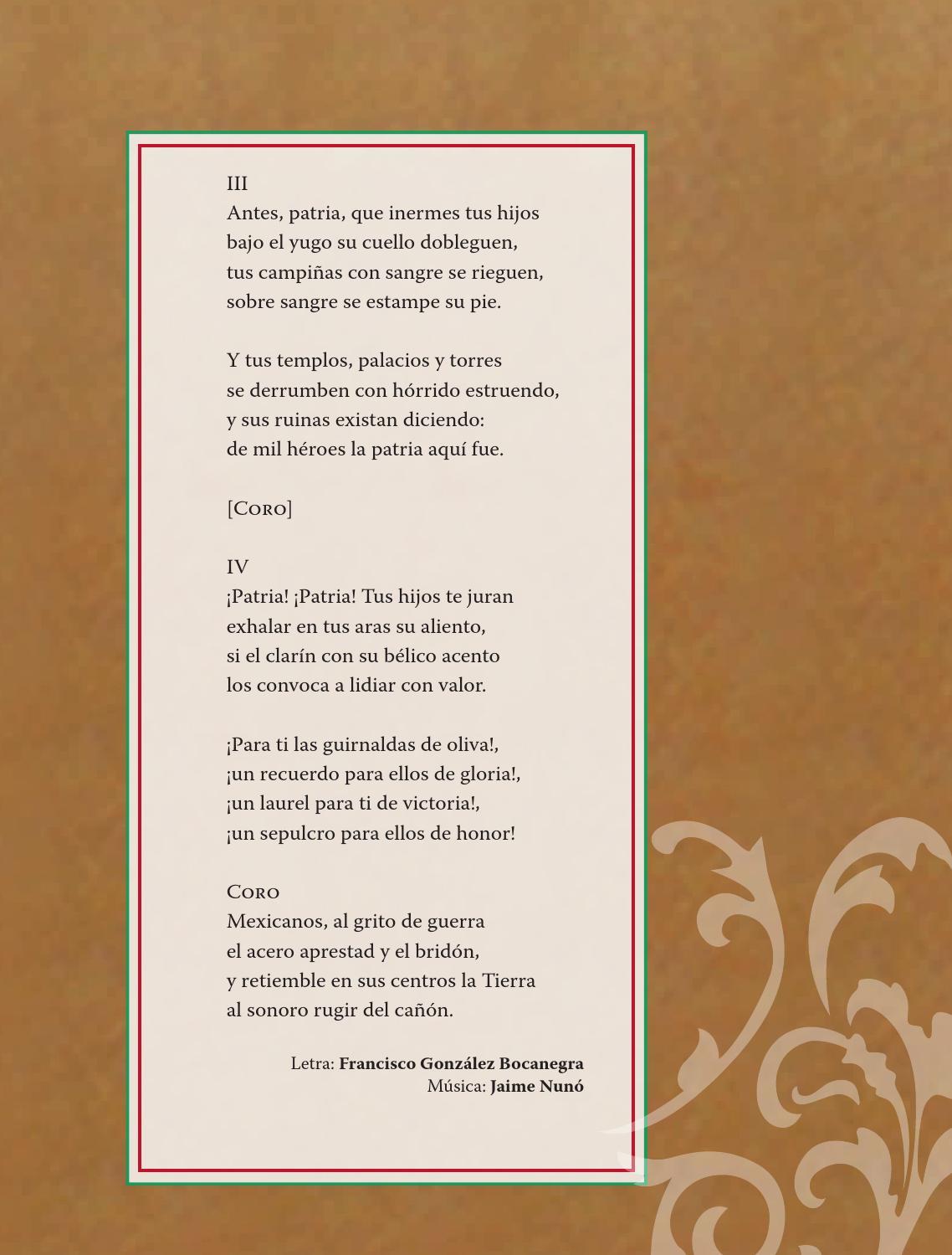 Himno Nacional Mexicano - Formación Cívica y Ética 4to Bloque 5 2014-2015