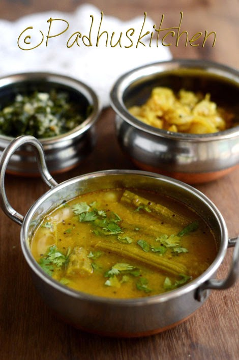Murungakkai Sambar-Drumstick Sambar