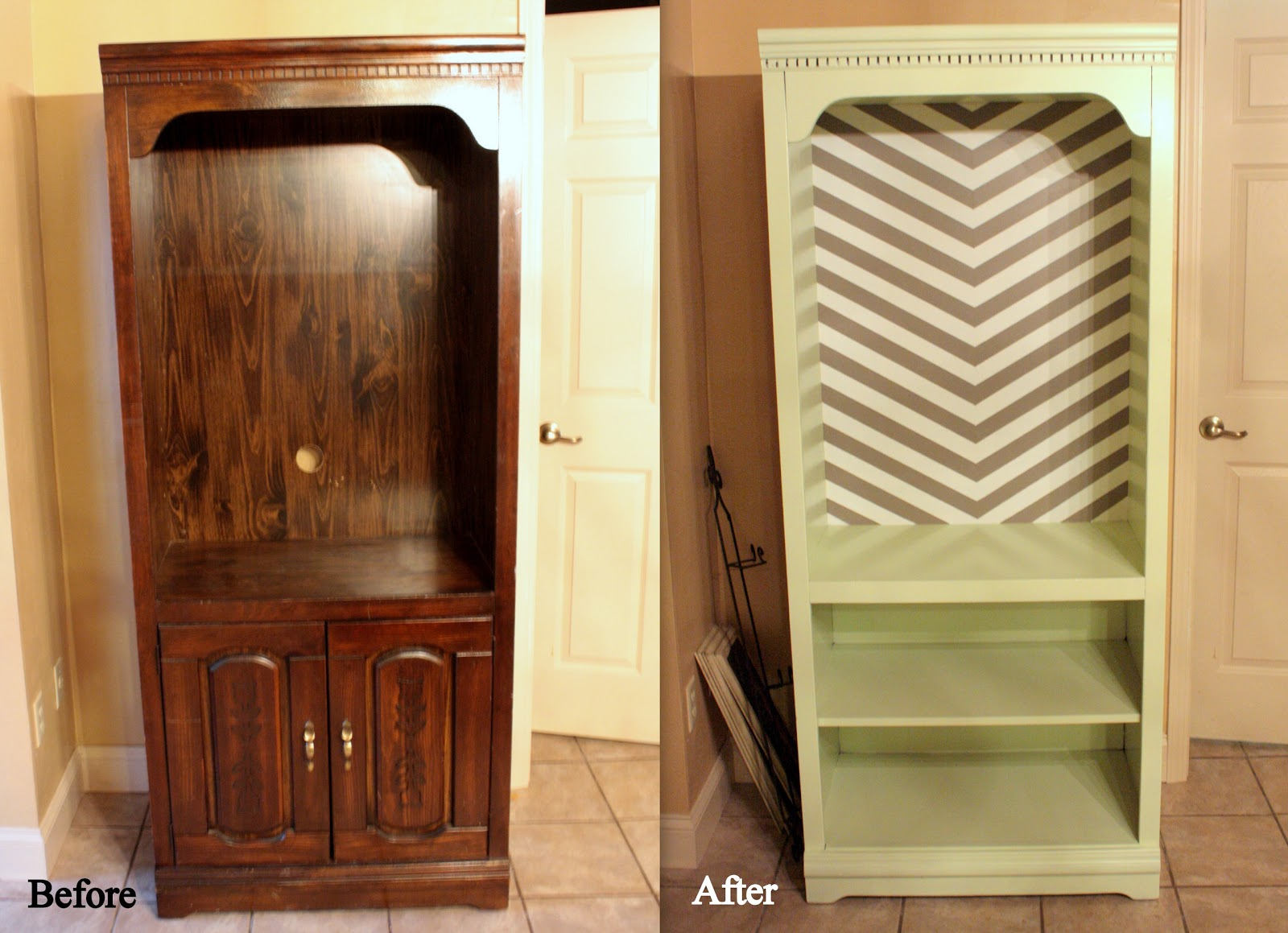 Pinterest and the pauper how to refinish laminate for Redo furniture