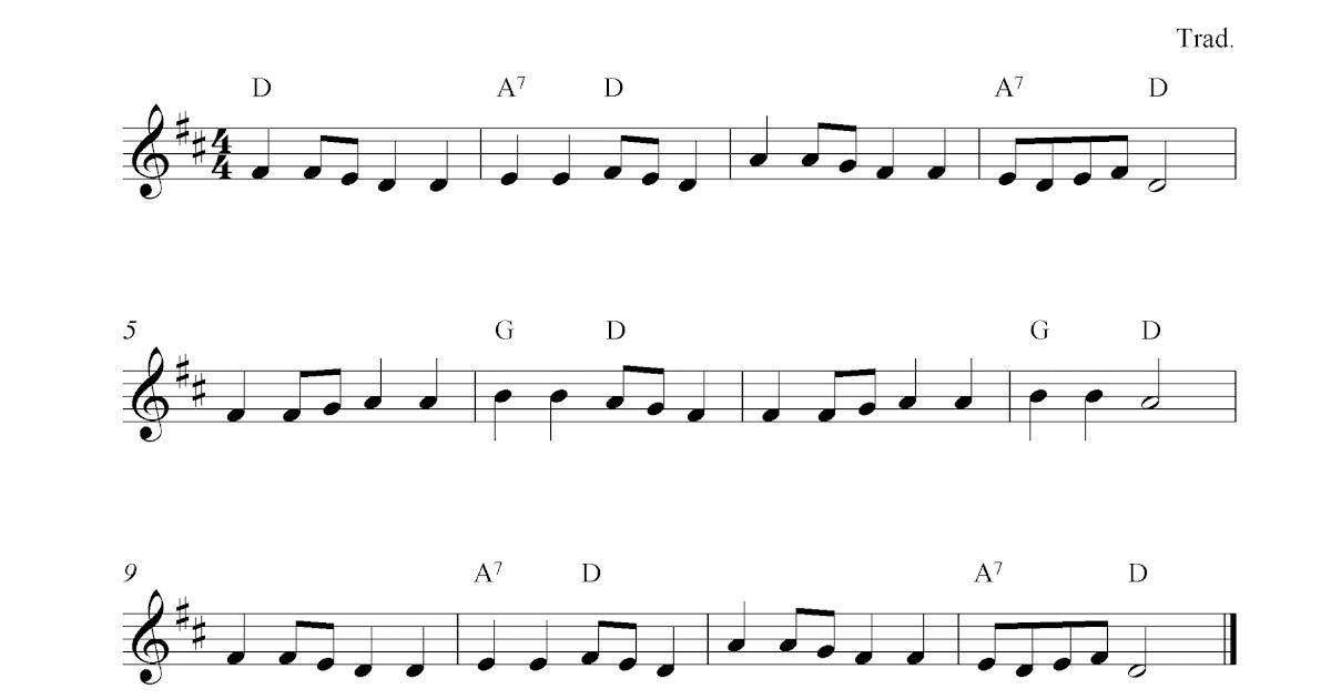 Go Tell Aunt Rhody Free Violin Sheet Music Notes