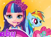 Little Pony Baby Barbie