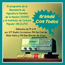 La agricultura familiar en la radio