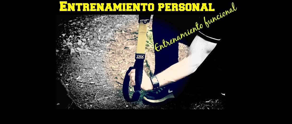 Entrenamiento personal, entrenamiento funcional.