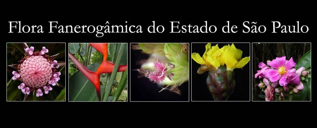 Flora Fanerogâmica do Estado de São Paulo