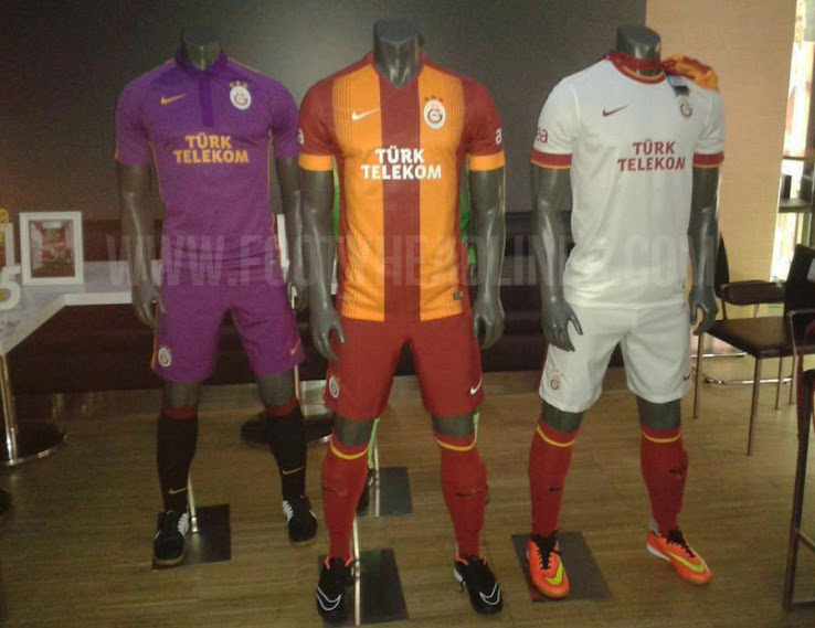 Galatasaray kits for 2014 15 season LEAKED online [Pictures]