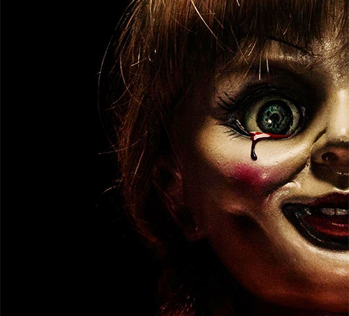 annabelle higgins, movie, scary