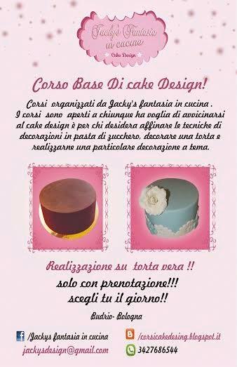 Corsi cake design budrio bo corso base di cake design for Corso di designer