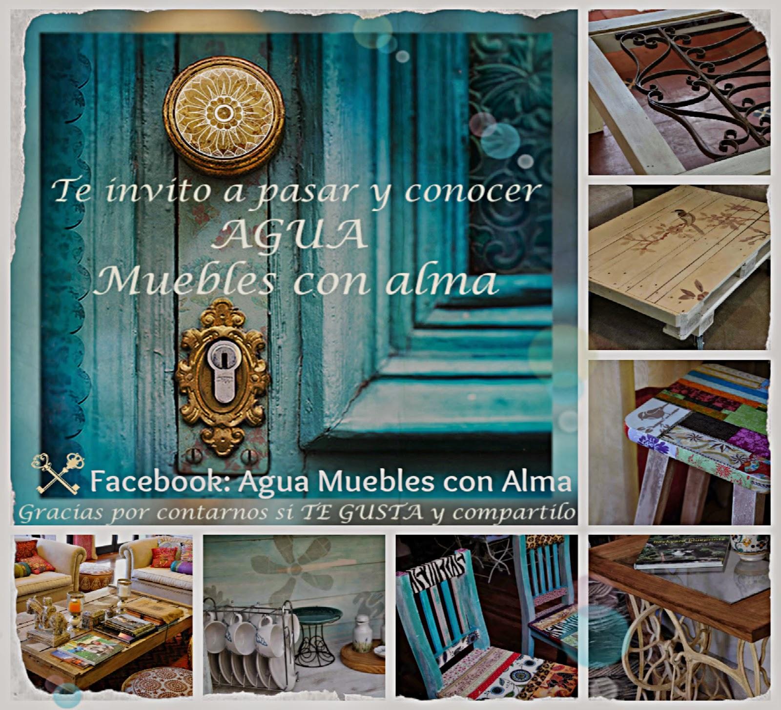 Agua muebles con alma muebles y objetos de decoraci n for Vintage muebles y objetos