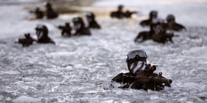 Di Medan Bersalju Kopassus kalahkan pasukan komando Korea Selatan