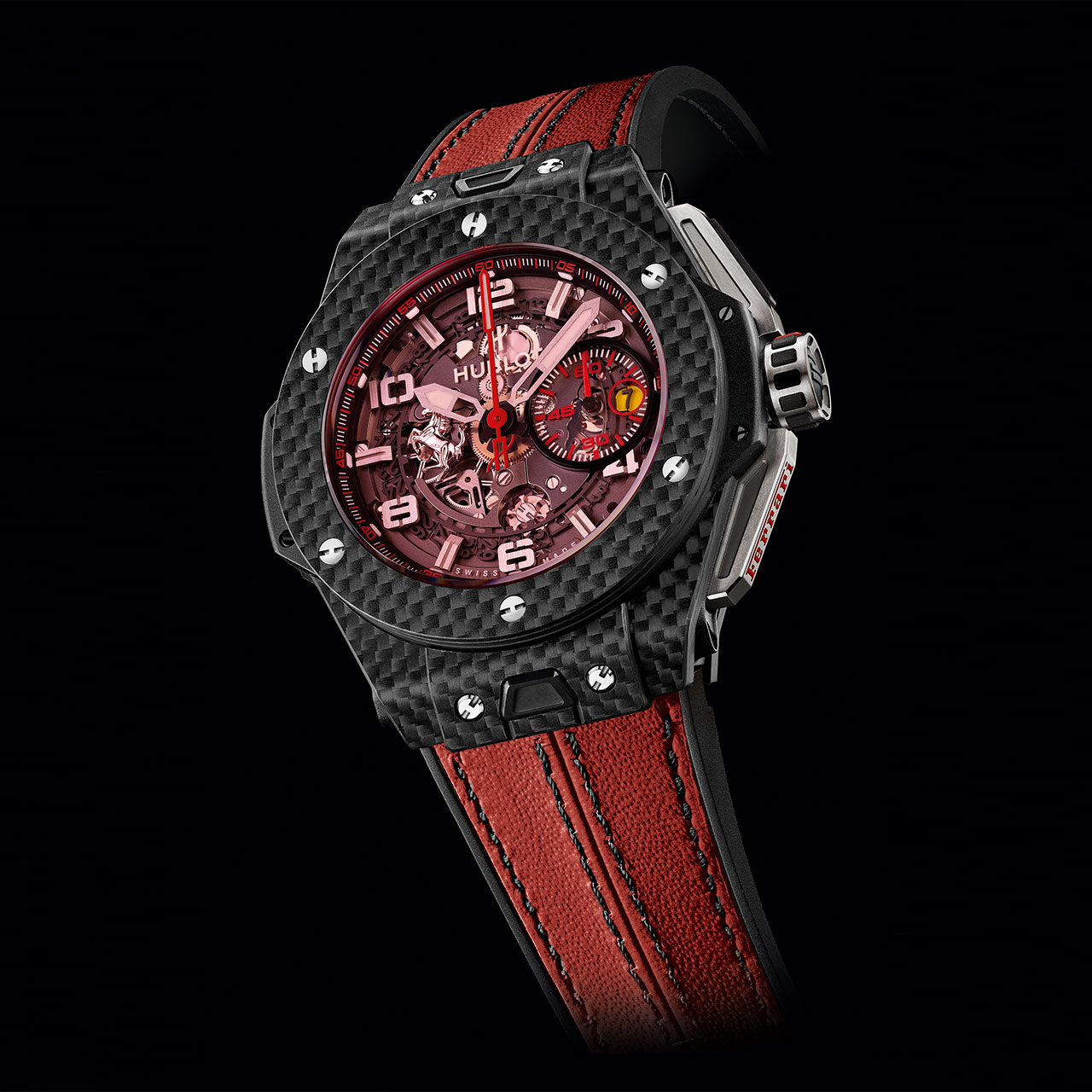 Luxury Cars And Watches Boxfox1 March 2013 Traveltime Sl 10 03 Laptop Case Orange Hublot Big Bang Ferrari Carbon Red Magic Watch