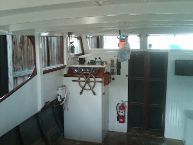 After - 40' Bay Charter Interior