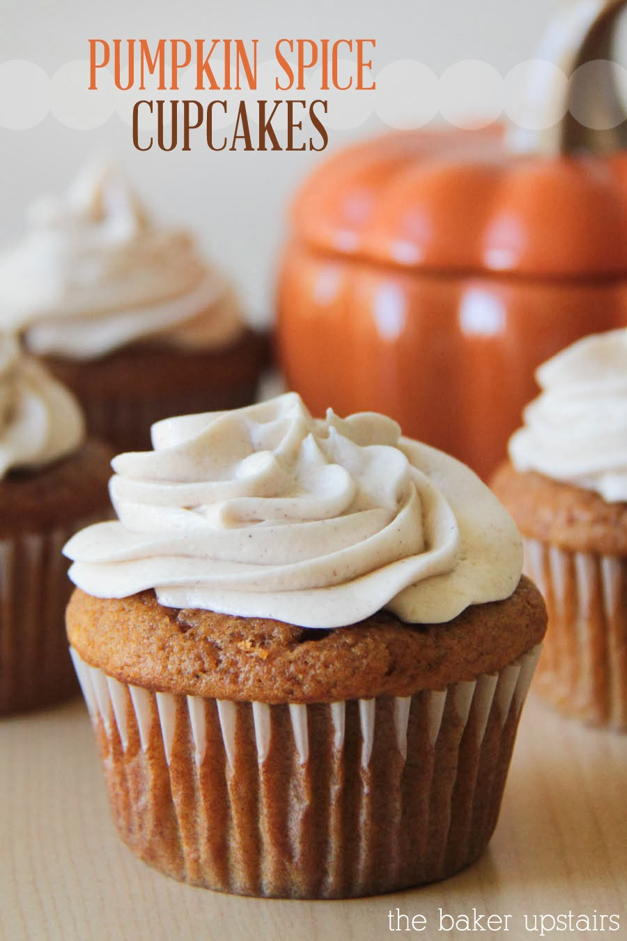 Pumpkin Cupcakes Recipe — Dishmaps