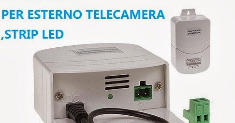 ALIMENTATORE ESTERNO 12V PER TELECAMERE VIDEOSORVEGLIANZA DA 2A 24W 100V 240V 2 AMP  INGROSSO ...