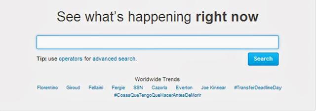 Twitter trending topics on football transfer deadline day