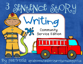 easy fictional story writing for primary kids students young leraners
