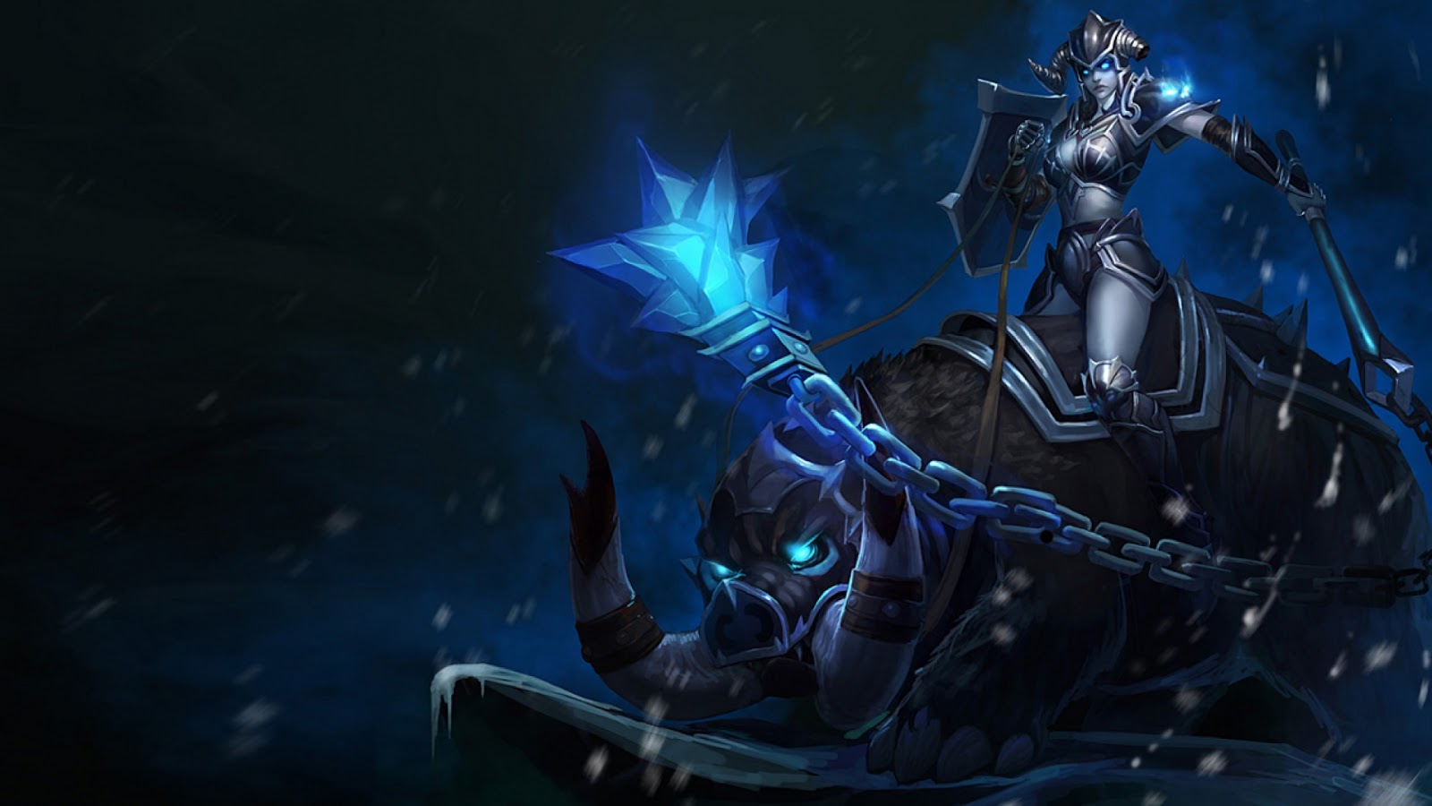 League of Legends: Sejuani Wallpapers (Chinese + American ...