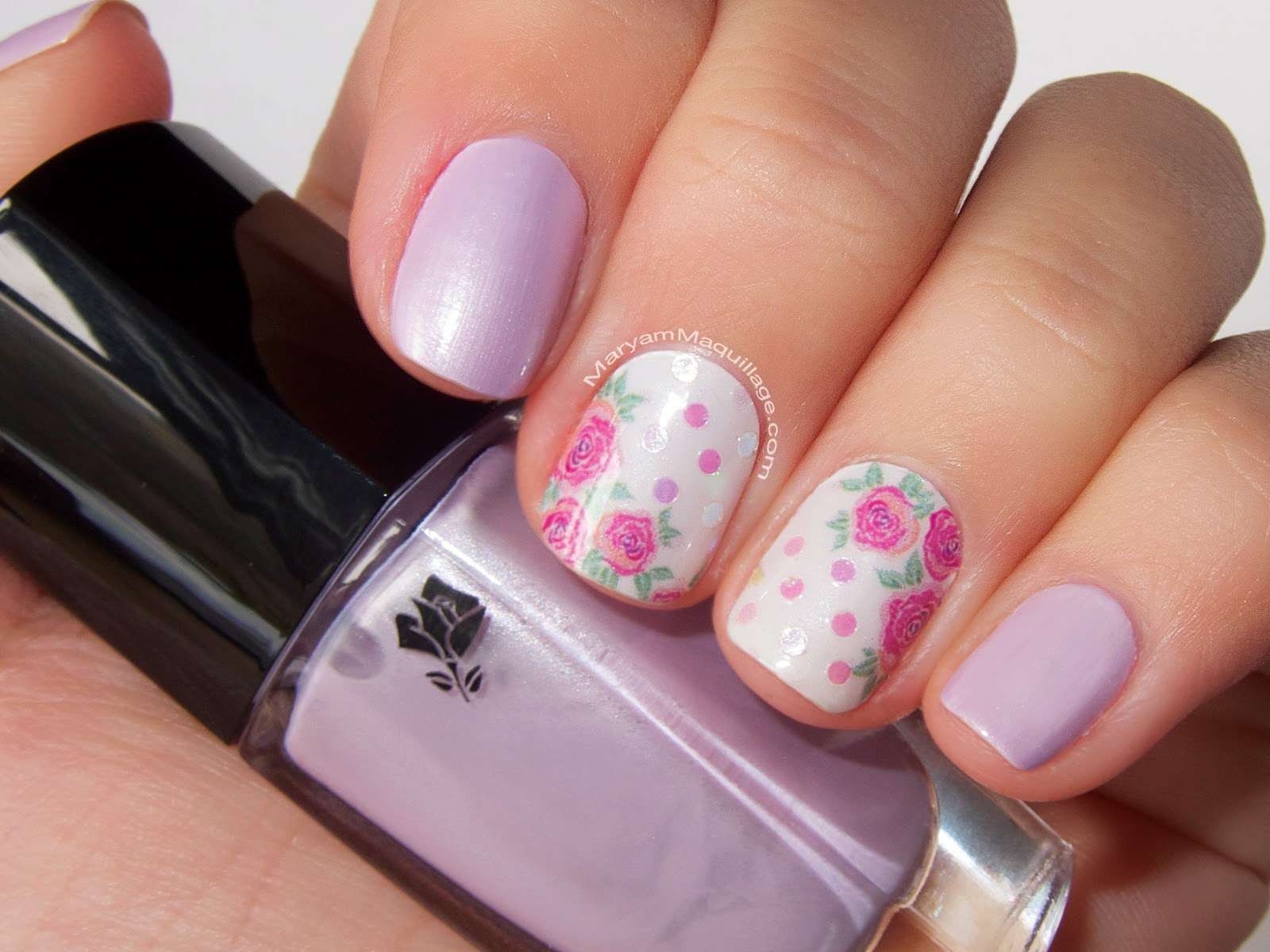 Maryam maquillage spring beauty trend pastel nailart sneak peek of next post look inspired by my minty fresh nail art prinsesfo Choice Image