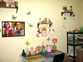 Meu atelier encantado!!!