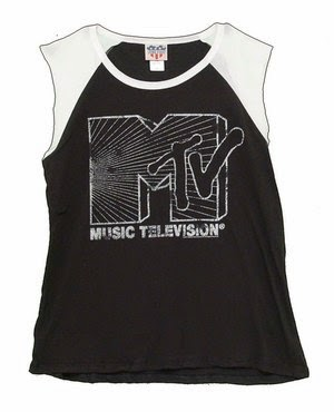 MTV top from Junk Food Fashion Brand