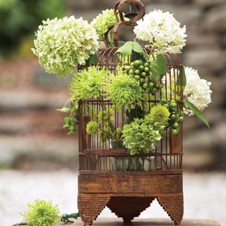 Wedding flower display ideas