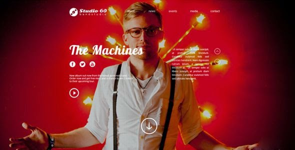 Best Band & DJ Muse Template