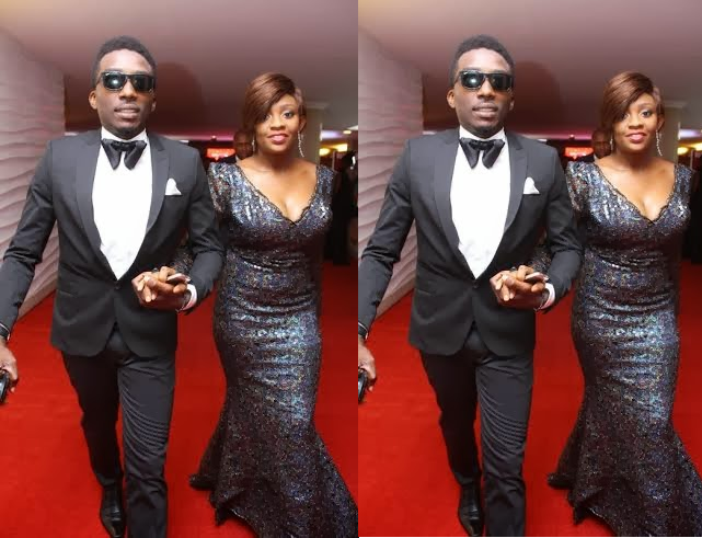 Comedian Bovi, Comedian Bovi's Wife, Christabel Ugboma, AMVCA 2014, Africa Magic Viewers' Choice Awards 2014