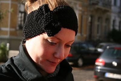 gestricktes Stirnband