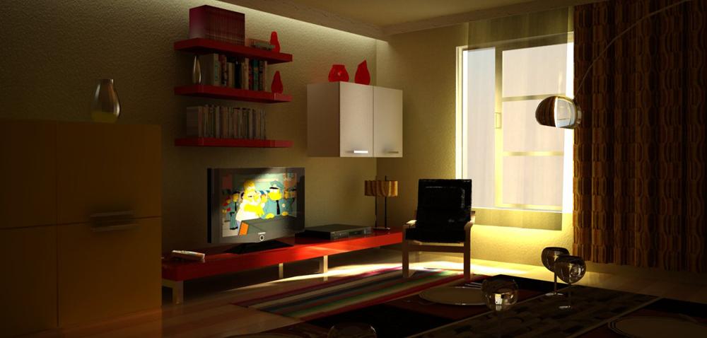 Grupo zoorender mexico render sketchup vray remodelacion for Remodelacion de casas interiores