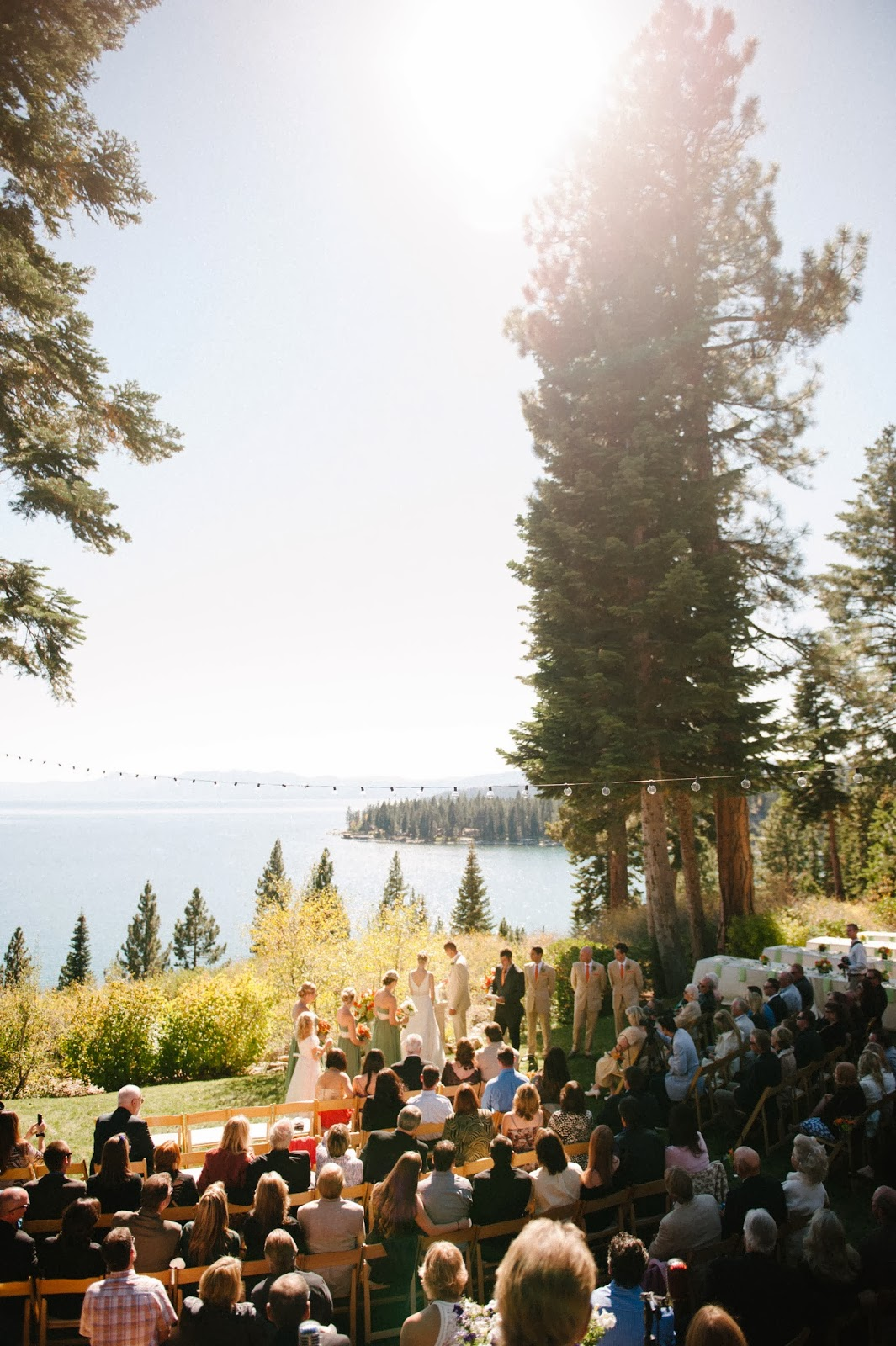 Fall Fitzhaven Lake Tahoe Wedding // Acres of Hope Photography // Take the Cake Event Planning