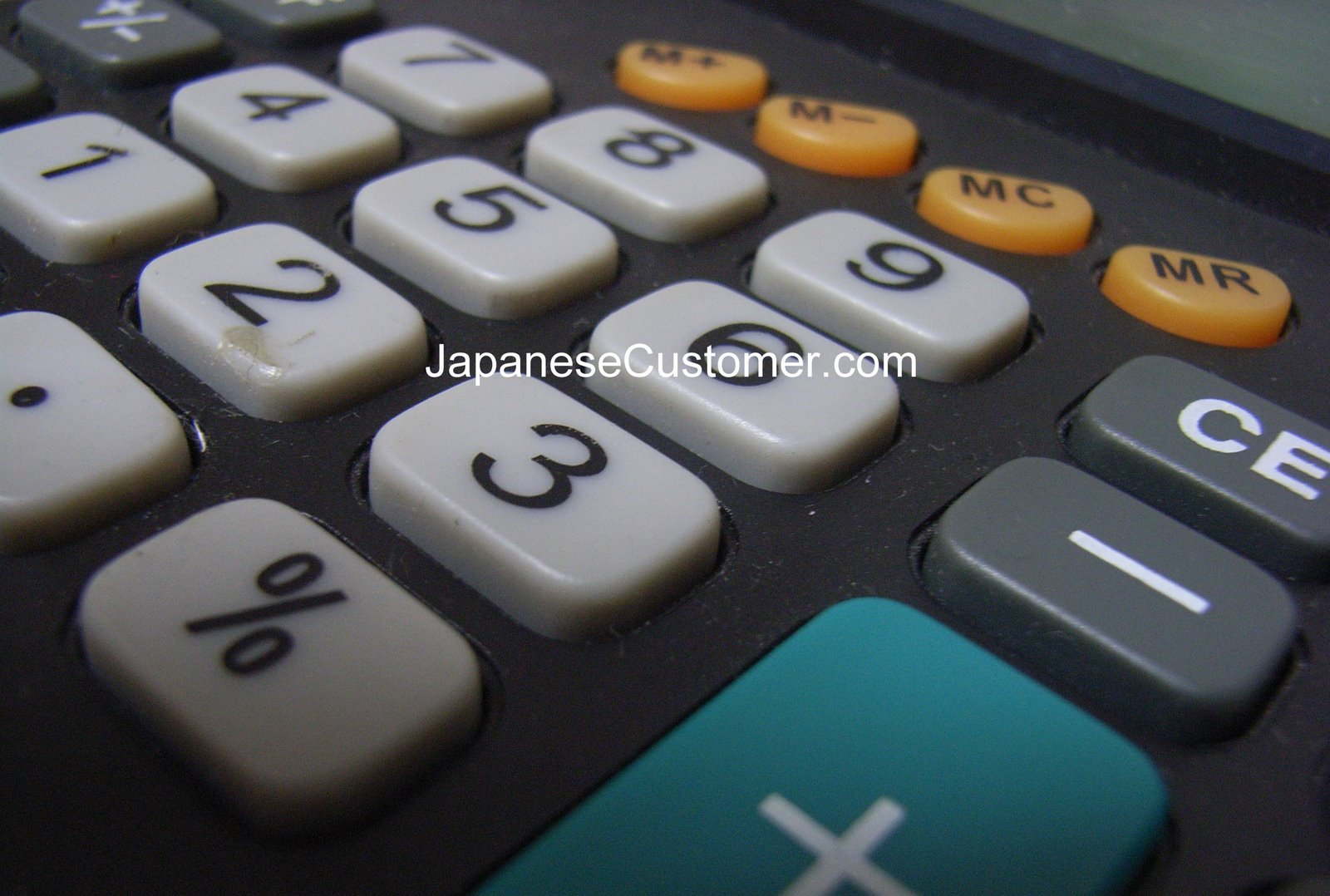 Japanese calculator Copyright Peter Hanami 2014