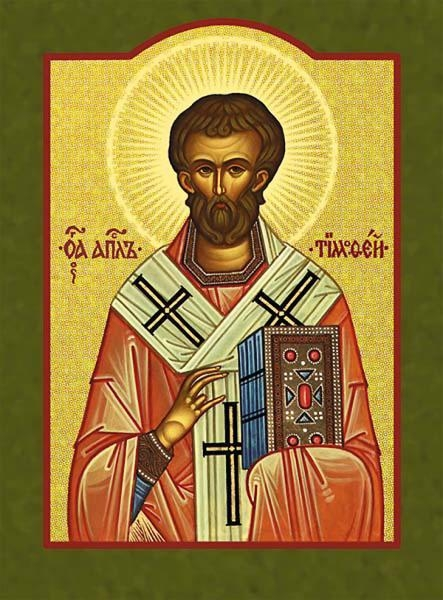 + Saint Timothy, Pastor and Bishop +