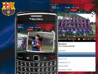 Barcelona Theme for BlackBerry