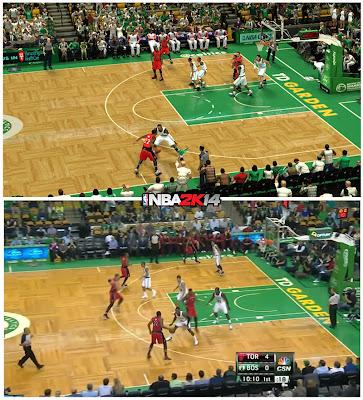 NBA 2K14 TD Garden Arena Patch