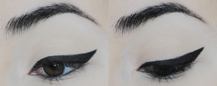 winged eyeliner, cateye tutorial