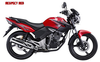 Honda Tiger 2012 Respect Red
