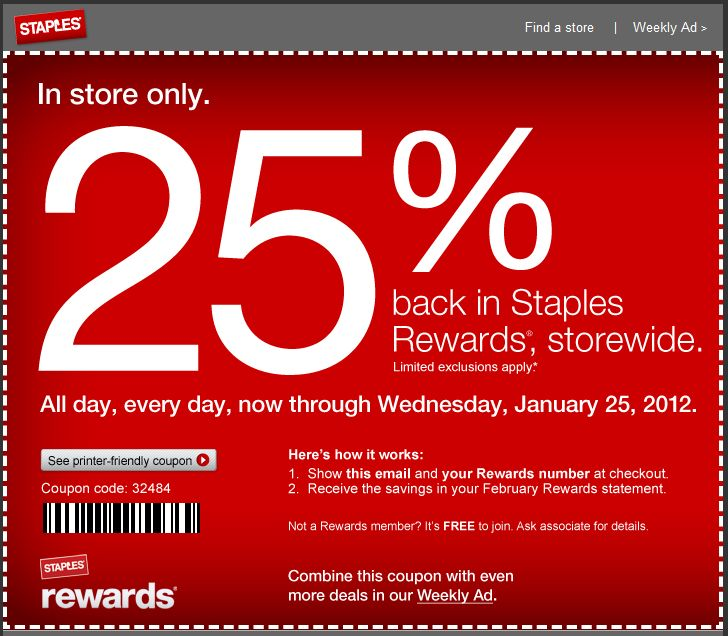 This is a graphic of Superb Staples Coupons Printable 2013