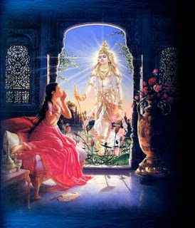 Kunti Pray to God Sun