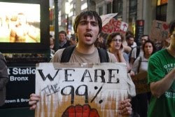 Wall St. protester