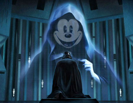 LucasArts is Dead Mickey-Mouse-Darth-Vader