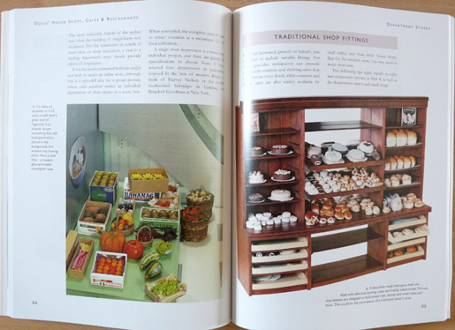 Dolls'House Shops, Cafés & Restaurants,Jean NISBETT,Livre,Miniature