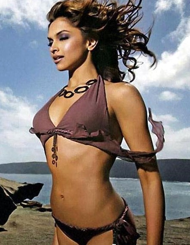 Deepika Padukone Hot Bikini Photos - Cinema Gallery